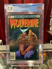 Wolverine #3, CGC 7.5, Key Marvel Comics, 3rd Issues of Solo Series NEWSSTAND