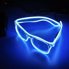 1PC LED Glasses Luminous Glasses EL Wire Sound Control For Party Decoration