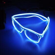 1PC LED Glasses Luminous Glasses EL Wire Sound Control For Party Decoration