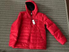 Lacoste Mens Lightweight DOWN Jacket Sz 56/xxl RED/Water Repellent/Retails $295