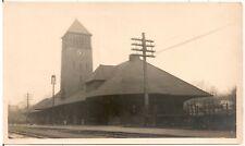Camp Custer Railroad Station 1918 Michigan? Photograph