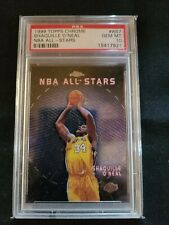 1999 Topps Chrome #AS7 Shaquille O'Neal All Star PSA 10 Gem Mint HOF