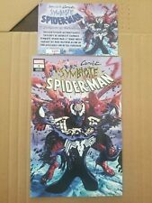 Absolute Carnage Symbiote Spider-Man 1 Mike Mayhew Trade Dress Variant  w/COA