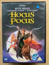Hocus Pocus DVD 1993 Walt Disney Halloween Witches Comedy with Bette Midler