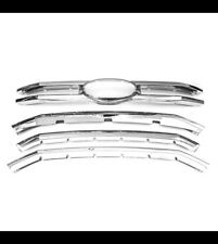 5pcs ABS-plastic Chrome Snap-On Grille Overlay For 2015-2018 F-150 XLT