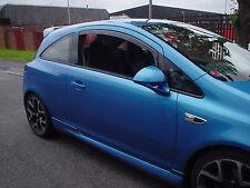 Heko Wind & Rain Deflectors Vauxhall Corsa D 3D inc VXR Smoked New UK Stock