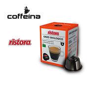 OFFERTA 50 capsule caffè ristora orzo biologico compatibile dolce gusto COFFEINA