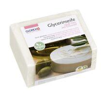 Glycerin-Seife Öko opak mit Olivenöl 500g (13,78€/kg) Seifengießmasse Rohseife