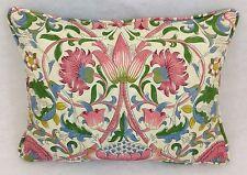 """William Morris- Lodden- Blushwoad- Cushion - 16"""" x 12"""" Inc Quality Cushion Pad"""