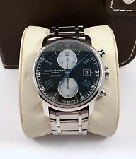 Baume Mercier Classima XL Executive Automatic Mens Chronograph Watch 65591