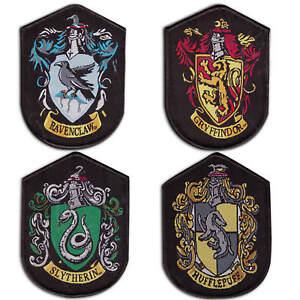 Harry Potter Aufnäher Gryffindor Slytherin Hufflepuff Ravenclaw Hogwarts