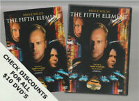 THE FIFTH ELEMENT DVD Horror Movie LIKE NEW WITH INSERTS BRUCE WILLIS