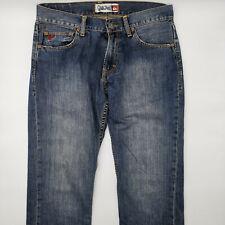 Quiksilver Regular W32 L32 blau Herren Designer Denim Jeans Vintage Hose Mode