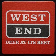 West End Beer At Its Best Coaster (B300)