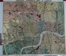 Antique maps, Cruchley's new plan of London, c. 1878