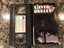 Silver Bullet VHS! 1985 Horror! Fright Night II Day Of The Dead Life Force