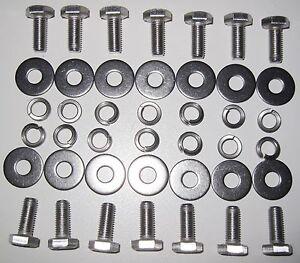 MGB Splash Plate fasteners (Stainless Steel).