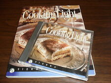 Master Cook : Cooking Light by Sierra Manual plus CD / Diet health weight loss