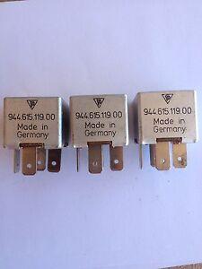 Porsche 928 944 968 Multi Purpose Relay 944 615 119 00