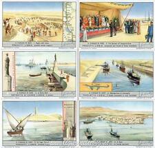 Chromo Liebig Sang. 1561 ITA Il Canale di Suez ANNO 1953