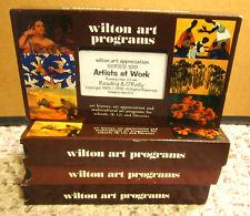 WILTON ART APPRECIATION PROGRAM history Reading & O'Reilly 4-VHS