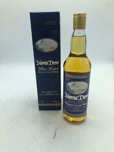 1 bouteille de nevis dew blue label blended scotch whisky