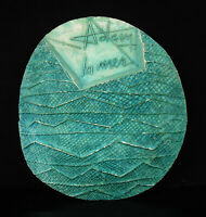 """One :"""" the Sea """" Projects of Medal (2) Testing Henri-Georges Adam 29 cm Plaster"""