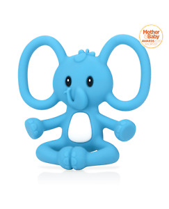 Nuby Baby Yogi Animal Teething Weaning Toy / Approved Infants Soothing Gums Toys