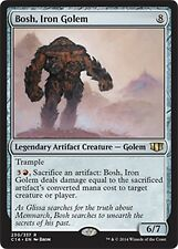 Bosh, Iron Golem  -LP- Commander 2014  MTG  Magic Cards  Artifact   Rare