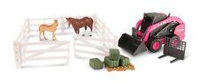 1/16 Big Farm Pink Case SV280 Skidloader w/Fork & Accessories
