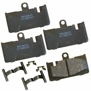Disc Brake Pad Set-Stop Ceramic Brake Pad Rear Bendix fits 01-06 Lexus LS430