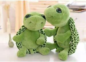 30/40cm Big Green Turtle Stuffed Soft Doll Pillow Plush Toy Party Gift