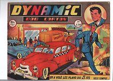 DYNAMIC n°110. Première série.  ARTIMA 1953   Récit complet oblong