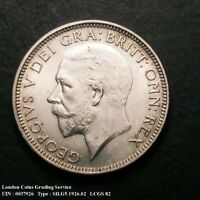 1926 Choice UNC George V Silver Shilling CGS 82