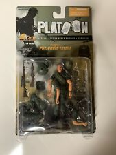Ultimate Soldier Platoon Pvt. Chris Taylor Action Figure Moc 1:18 Charlie Sheen