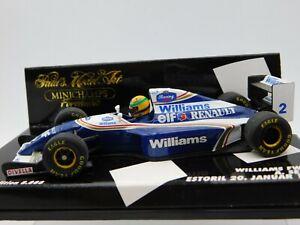 1/43 Minichamps 1994 Williams FW15 Estoril 1/20/94 #2 A. Senna #430940102