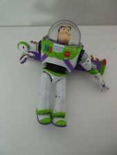 "TOY STORY 3 BUZZ LIGHTYEAR 12"" TALKING FIGURE - SPEAKS SPANISH AND ENGLISH"