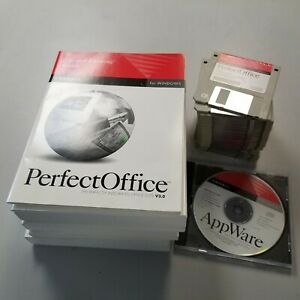 NOVELL PERFECT OFFICE V3.0 - 3.5 DISK VERSION with APPWARE CDROM