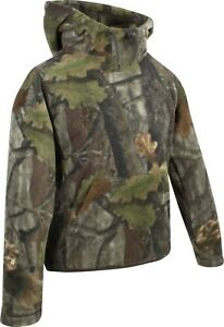 Jack Pyke Evolution Camouflage Fleece Hoodie Hunting Jumper Hooded Sweatshirt