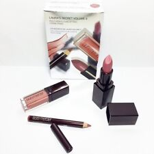 Laura Mercier  Volume 6 Pout Lip SHEER TRIO Lipstick gloss  pencil