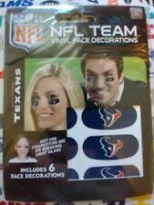 Party Animal Houston Texans Team Eye Black Strips 3 Pair