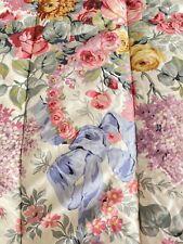 Beautiful Ralph Lauren Polo Allison King Size Reversible Comforter Lilacs Roses