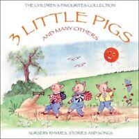 VA Nursery Rhymes - 3 Little Pigs  VA Nursery RhymesStories And Songs [CD]