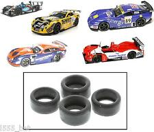 New Genuine Scalextric W9063 Lister Storm & TVR Tuscan Pack of 4 Tyres