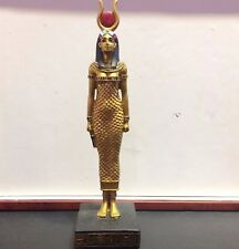 "8"" Isis Egyptian Statue Figure Collectible Decor Ancient Goddess Egypt Sculpture"