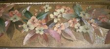 Metallic Copper & Black Satin Border with Multi-Color Flowers by Brewster 99288