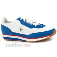 Shoes Le Coq Sportif AZStyle 1711412 Man Suede Nylon Optical White Blue Sneakers