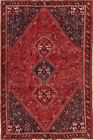 Lori Oriental Area Rugs Hand-Knotted Wool Tribal Home Decor Carpet 6 x 9 RED