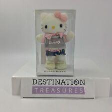 Hello Kitty Sanrio Employee Plush Doll in Display Box 2003 Rare Collectible NRFB