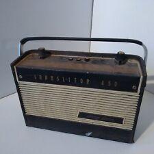 Vintage TSF Transistor émetteur radio Dizon Bros Translistor 450
